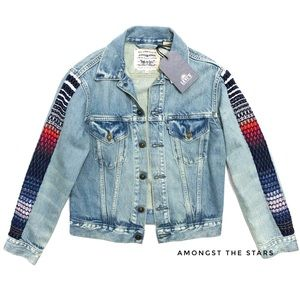 Levi's Made & Crafted Embroidered Trucker Jacket